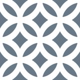 Seamless Geometric White Abstract Pattern on Colorful Background Stock Image