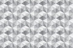 Seamless geometric white texture design pattern Stock Images