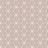 Seamless geometric winter background Stock Image
