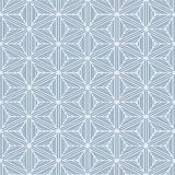 Seamless geometric winter background Royalty Free Stock Photos