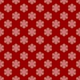 Seamless geometric winter snow pattern wallpaper - vector Christmas background graphic design. Seamless geometric winter snow pattern wallpaper - vector Stock Photos