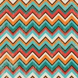 Seamless Geometric Zigzag Background Stock Photography