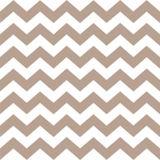 Seamless geometric, zigzag light brown color. stock illustration