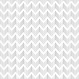 Seamless geometric zigzag pattern. Royalty Free Stock Images