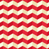 Seamless geometric zigzag pattern. Vector illustration. Stock Photography