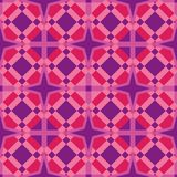 Seamless Geometrical Art Tile & Background stock illustration