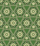 Seamless from geometrical element Royalty Free Stock Images