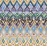 Seamless geometrical hand drawn pattern Stock Photos
