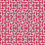 Seamless geometrical islamic texture with swastika Stock Images