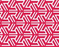 Seamless geometrical islamic triangle ornament Stock Photos