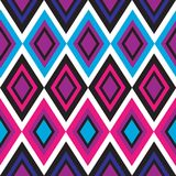 Seamless geometrical pattern. Retro color seamless geometric background Royalty Free Stock Photography