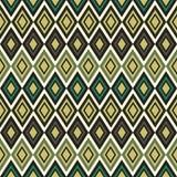 Seamless geometrical pattern. Retro color seamless geometric background Stock Photography