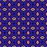 Seamless geometrical pattern abstract background Stock Images
