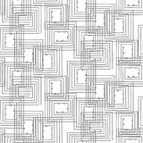 Seamless geometrical pattern abstract background Royalty Free Stock Images