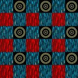 Seamless geometrical pattern abstract background Royalty Free Stock Image