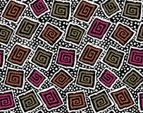 Seamless geometrical pattern royalty free illustration
