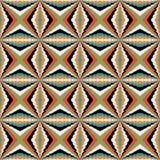Seamless geometrical pattern Royalty Free Stock Photos