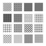 Seamless geometrical patterns Royalty Free Stock Image