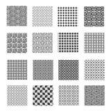Seamless geometrical patterns Royalty Free Stock Photo