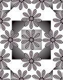 Seamless geometrisk bakgrund Royaltyfri Foto
