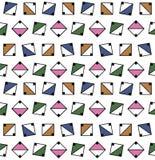 seamless geometrisk modell Arkivfoto