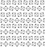seamless geometrisk modell Royaltyfria Foton