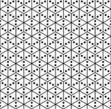 seamless geometrisk modell Royaltyfria Bilder