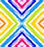 seamless geometrisk modell Färgrik polygonal mosaikbakgrund wallpaper Arkivbilder