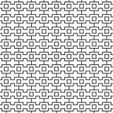Seamless geometrisk modell för vektor linje textur Svartvit bakgrund Monokrom design vektor illustrationer
