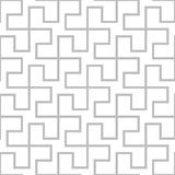seamless geometrisk modell Grå enkel abstrakt backgrou för vektor Royaltyfri Foto