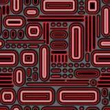 seamless geometrisk modell också vektor för coreldrawillustration Royaltyfria Foton