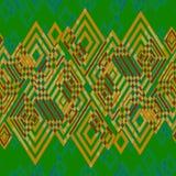 seamless geometrisk modell också vektor för coreldrawillustration Arkivbild