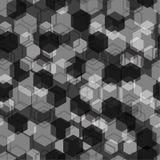 seamless geometrisk modell svart grey Arkivbilder