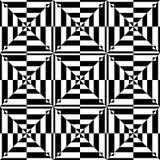 seamless geometrisk op modell för konstdesign stock illustrationer