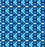 Seamless geometry blue colorful pattern texture Stock Images