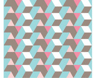 Seamless Geometry Pattern. With triangle and rhombus Stock Photos