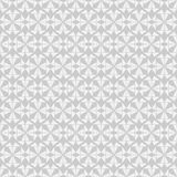 Seamless geometry vector pattern in monochrome background Stock Image