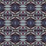 Seamless geometry vintage pattern, ethnic style Royalty Free Stock Photos