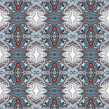 Seamless geometry vintage pattern, ethnic style Stock Photography