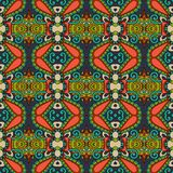 Seamless geometry vintage pattern, ethnic style Royalty Free Stock Image