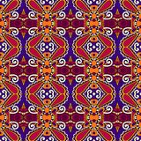 Seamless geometry vintage pattern, ethnic style Stock Photo