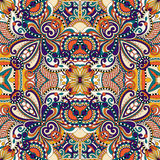 Seamless geometry vintage pattern, ethnic style Royalty Free Stock Images