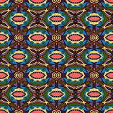 Seamless geometry vintage pattern Royalty Free Stock Photography
