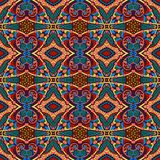 Seamless geometry vintage pattern, ethnic style Royalty Free Stock Photography