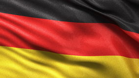 Seamless German Flag Stock Image