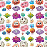 Seamless Germs Stock Images