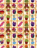 Seamless gift pattern. Illustration Stock Photography