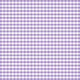Seamless Gingham Background, Lavender Royalty Free Stock Photos