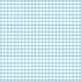 Seamless Gingham Background, Turquoise Royalty Free Stock Photo