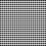 Seamless Gingham Background, Black and White vector illustration